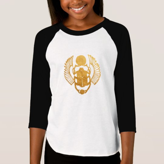 Scarab Egypt. Egyptian Winged Scarab Beetle. T-Shirt