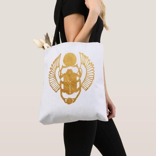 Scarab Egypt. Egyptian Winged Scarab Beetle. Tote Bag