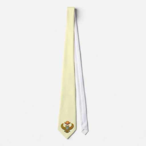 Scarab-gold Neck Ties