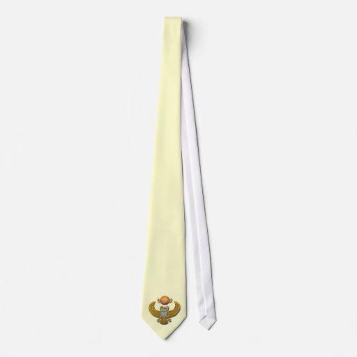 Scarab-gold Tie
