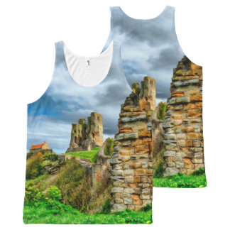 Scarborough Castle All-Over Print Tank Top