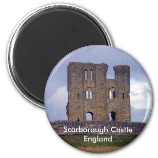 Scarborough Castle England magnet
