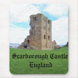 Scarborough Castle England mousemat