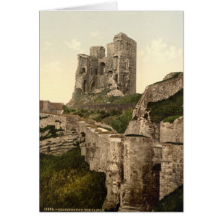 Scarborough Castle, Scarborough, Yorkshire, UK Card