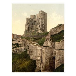 Scarborough Castle, Scarborough, Yorkshire, UK Postcard