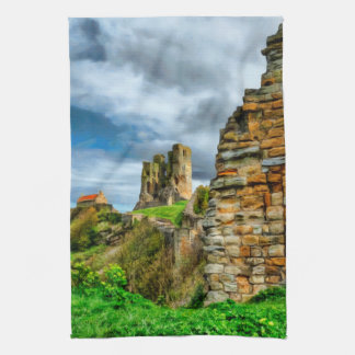 Scarborough Castle Tea Towels