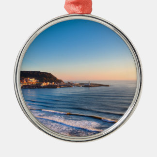 Scarborough Coastline Christmas Ornament