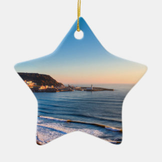 Scarborough Coastline Christmas Ornament