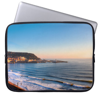 Scarborough Coastline Laptop Computer Sleeves