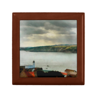 Scarborough from on High Small Square Gift Box