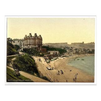 Scarborough, Grand Hotel, Yorkshire, England rare Postcard