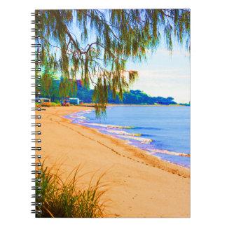 Scarborough Seascape Spiral Note Book
