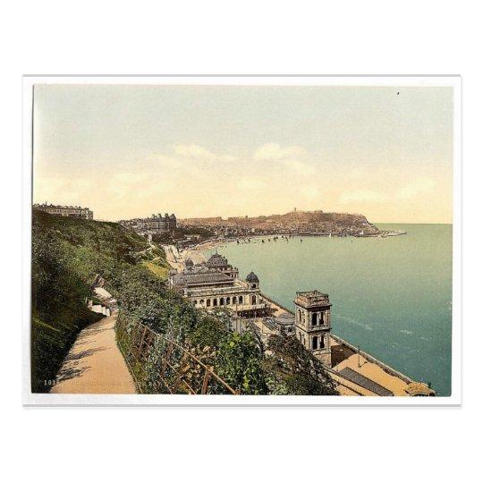 Scarborough, South Bay, Yorkshire, England rare Ph Postcard