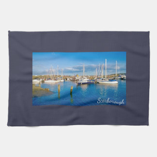 Scarborough tea towel