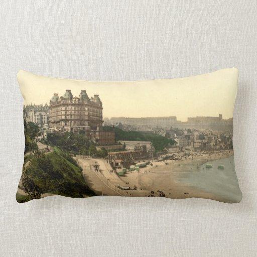 Scarborough, Yorkshire, England Throw Pillow