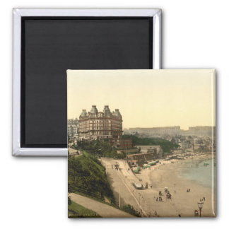 Scarborough, Yorkshire, England Square Magnet