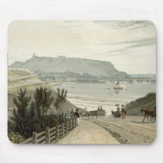 Scarborough, Yorkshire, from Volume VI of 'A Voyag Mouse Mat
