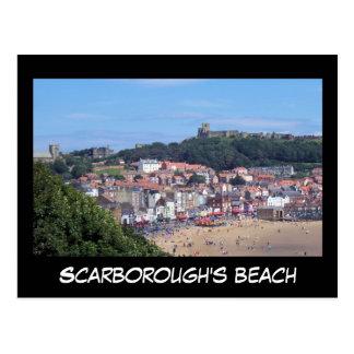 Scarborough's beach postcard