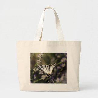 Scarce Swallowtail (Iphiclides podalirius) Large Tote Bag