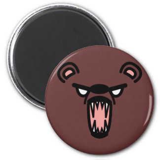 scare bear. magnets