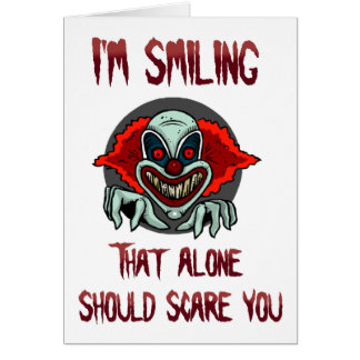 Scare You card