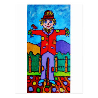 Scarecrow A Post Card