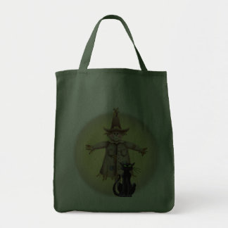 SCARECROW BLACK CAT by SHARON SHARPE Bags