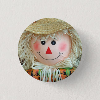 Scarecrow Body 3 Cm Round Badge