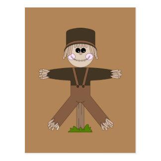 Scarecrow Brown Postcard