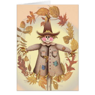 SCARECROW by SHARON SHARPE Greeting Card