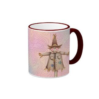 SCARECROW by SHARON SHARPE Coffee Mugs