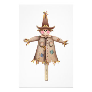 SCARECROW by SHARON SHARPE Stationery