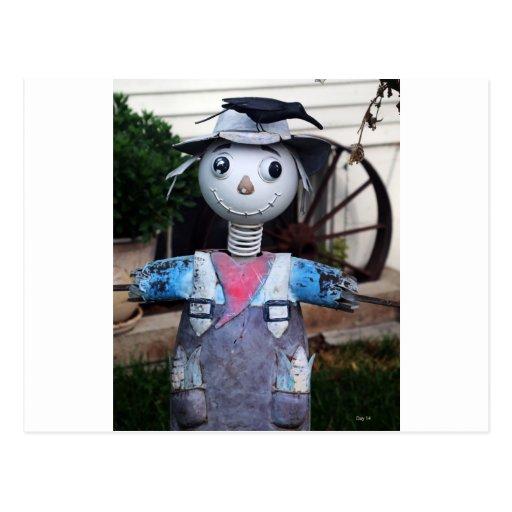 Scarecrow, Carson City, Nevada Postcard