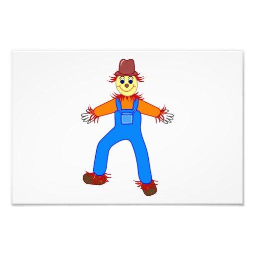 Scarecrow cartoon photo art