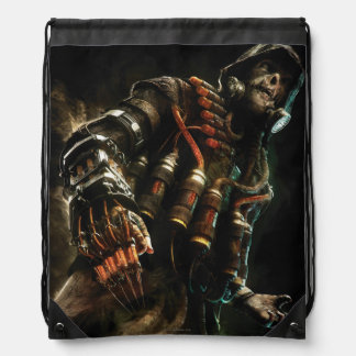 Scarecrow Character Art Drawstring Bag