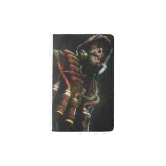 Scarecrow Character Art Pocket Moleskine Notebook