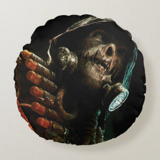 Scarecrow Character Art Round Cushion