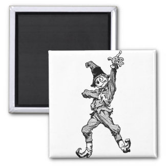 Scarecrow Dancing Disco Style Magnet