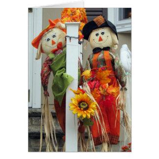 Scarecrow Fall Greeting Card