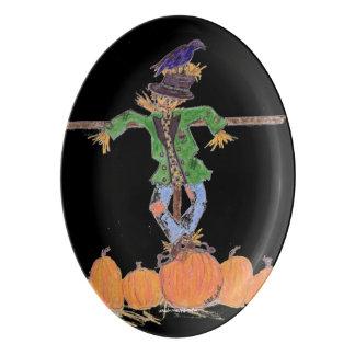 Scarecrow Harvest Platter