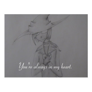 Scarecrow Heart Postcards