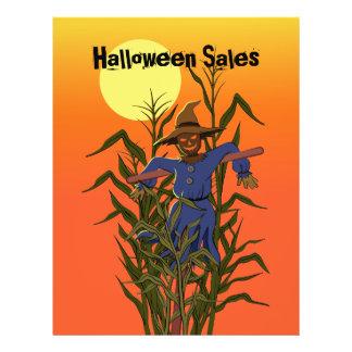 Scarecrow in a corn field 21.5 cm x 28 cm flyer