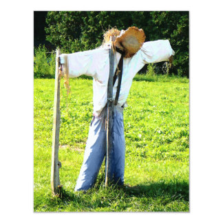 Scarecrow Personalized Announcements