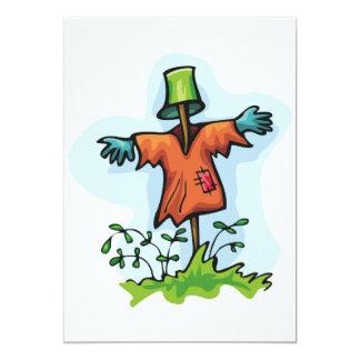 Scarecrow Invitations