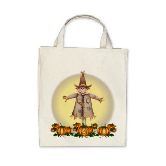 SCARECROW, JACK & MOON by SHARON SHARPE Bag