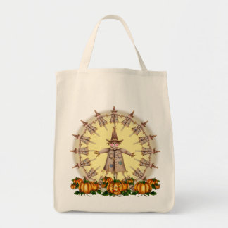 SCARECROW, JACK & MOON by SHARON SHARPE Canvas Bags