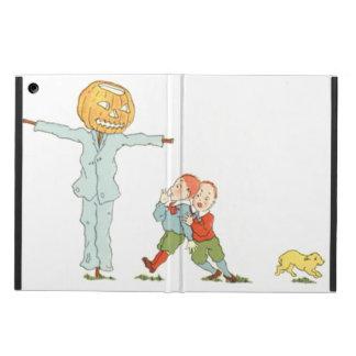 Scarecrow Jack O' Lantern Pumpkin Children Dog iPad Air Covers