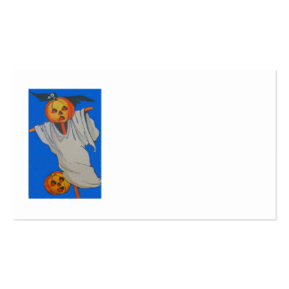 Scarecrow Jack O' Lantern Pumpkin Ghost Pack Of Standard Business Cards