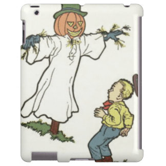 Scarecrow Jack O' Lantern Scared Boy iPad Case