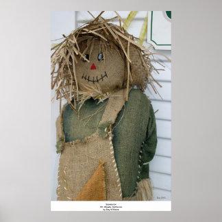 Scarecrow, Mt. Shasta, California Print